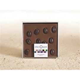 Chocolade tablet melk/koffieboon